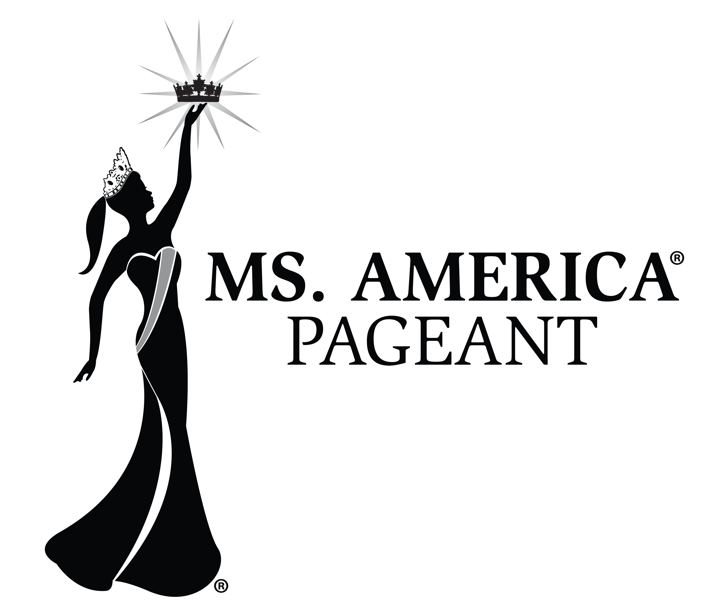 ms america pageant the official logo of the ms america pageant no one is permitted to use