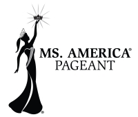 The official logo of the Ms. America Pageant - no one is permitted to use it without permissions from the Ms. America Pa