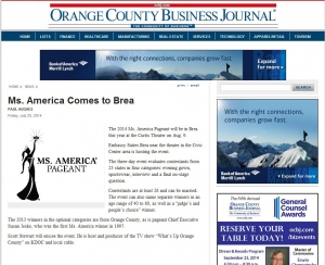 Ms. America Comes to Brea, California - OC Business Journal