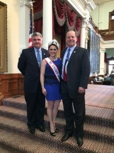Dr. Mills with Texas Legislators