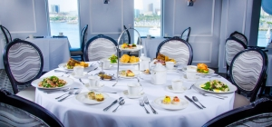 The Queen Mary Tea Room offers a truly unique British afternoon tea experience.